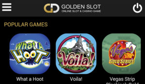 goldenslot-mobile-category-games